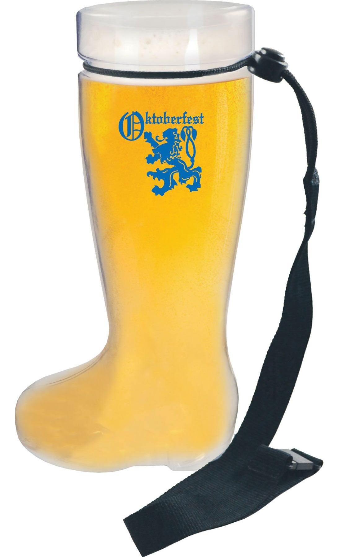 Boot-Shaped Glass