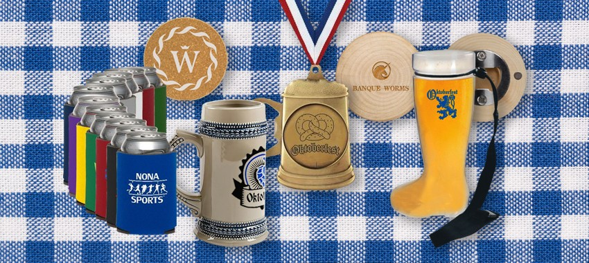 Get Ready for Oktoberfest With These Promotional Products